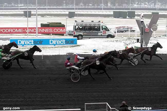 28/12/2010 - Vincennes - Prix de Craon : Arrivée