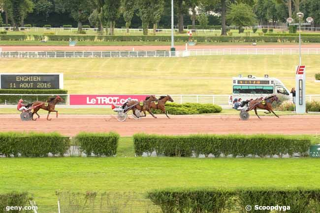 11/08/2016 - Enghien - Prix de la Haute-Saône : Arrivée