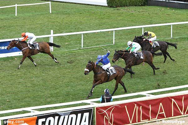19/12/2008 - Pau - Prix Georges Pastré : Arrivée