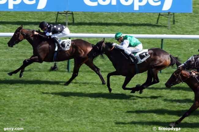 05/09/2010 - Longchamp - Prix de la Ligue Française de Protection du Cheval : Arrivée