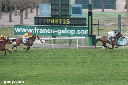 12/03/2011 - Saint-Cloud - Prix Teddy : Arrivée