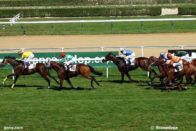 26/08/2009 - Deauville - Prix de la Suisse Normande : Arrivée