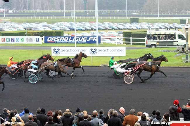 12/01/2014 - Vincennes - Prix de Belgique : Arrivée