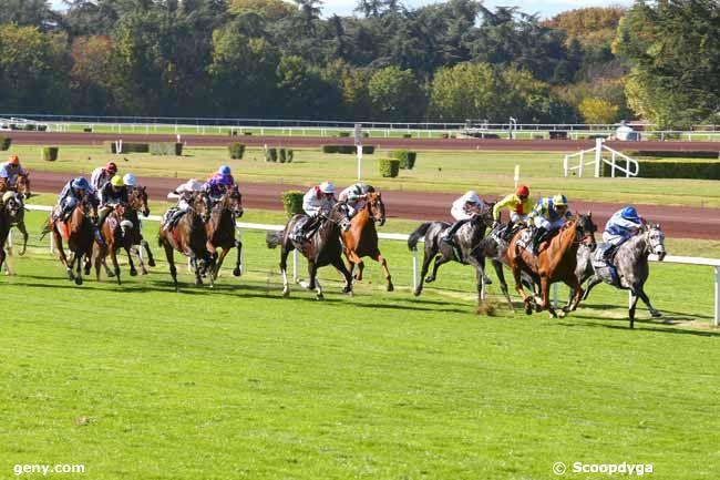 12/10/2017 - Lyon-Parilly - Prix de la Fédération des Courses du Centre-Est : Arrivée