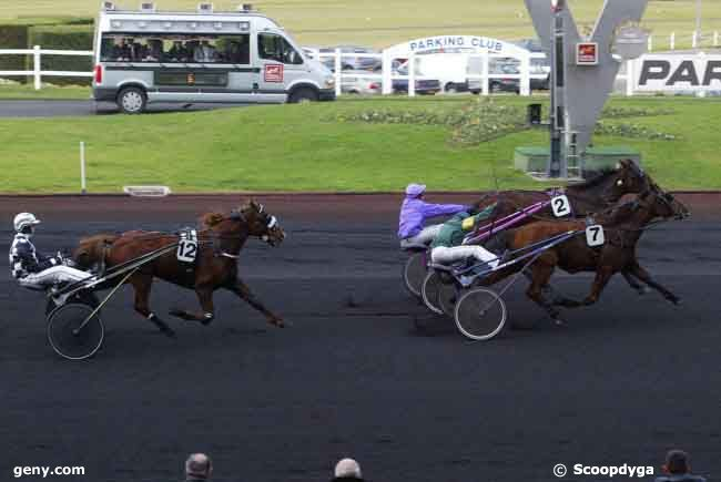 20/12/2008 - Vincennes - Prix de Strasbourg : Arrivée