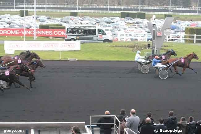 13/02/2011 - Vincennes - Prix des Vosges : Arrivée