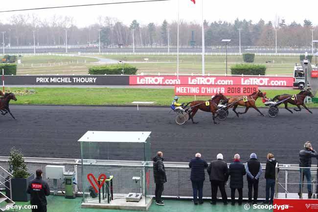 15/12/2018 - Vincennes - Prix de Saint James : Arrivée