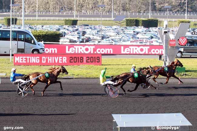 24/02/2019 - Vincennes - Grand Prix de Paris : Arrivée