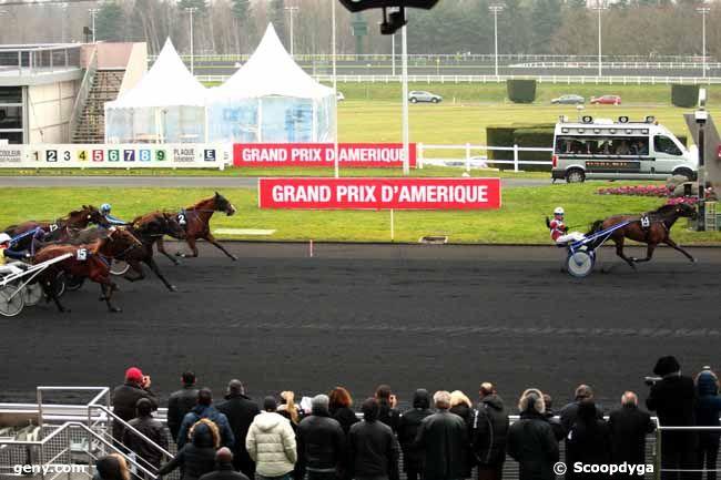 25/01/2014 - Vincennes - Prix du Jura : Arrivée