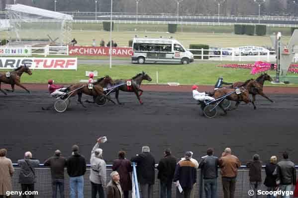 24/01/2008 - Vincennes - Prix de la Thiérache : Arrivée