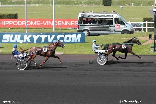 16/04/2011 - Vincennes - Prix de Château-Gaillard : Arrivée