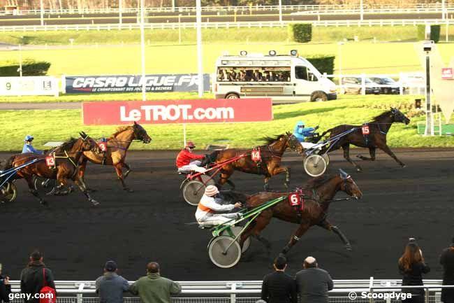25/12/2014 - Vincennes - Prix de Craon : Arrivée