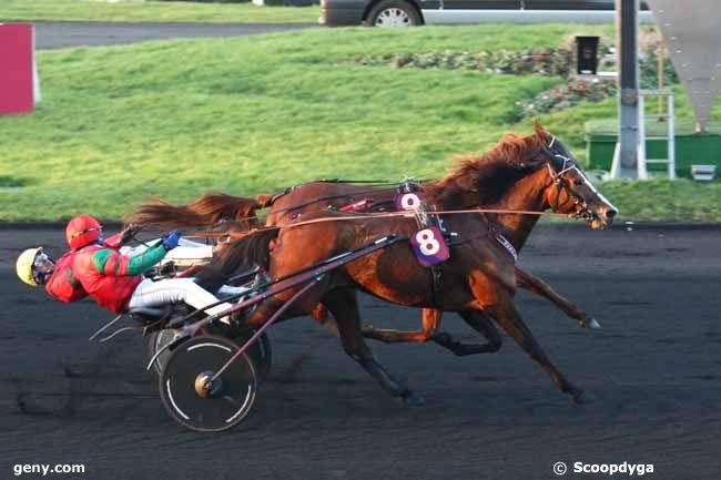 17/01/2015 - Vincennes - Prix de Brest : Arrivée