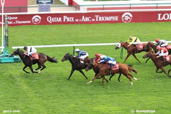 06/10/2018 - ParisLongchamp - Qatar Grand Handicap des Juments : Arrivée