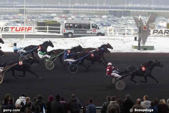 11/01/2009 - Vincennes - Prix de Belgique : Arrivée