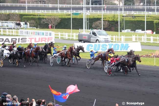 26/02/2017 - Vincennes - Grand Prix de Paris : Arrivée