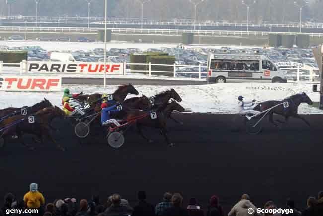 11/01/2009 - Vincennes - Prix Ténor de Baune : Arrivée
