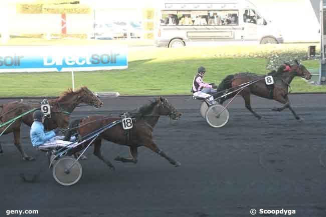 10/01/2011 - Vincennes - Prix de l'Aveyron : Arrivée