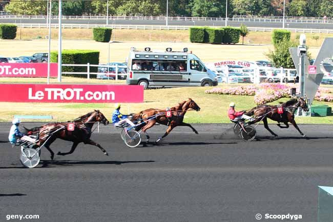 03/09/2016 - Vincennes - Critérium des 5 ans : Arrivée
