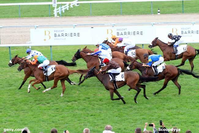 26/08/2018 - Deauville - Prix Casino Barrière - Deauville : Arrivée
