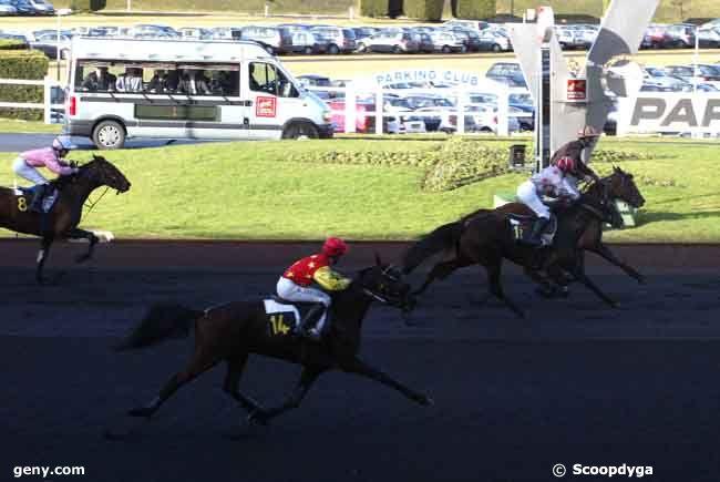 18/01/2009 - Vincennes - Prix de Cornulier : Arrivée