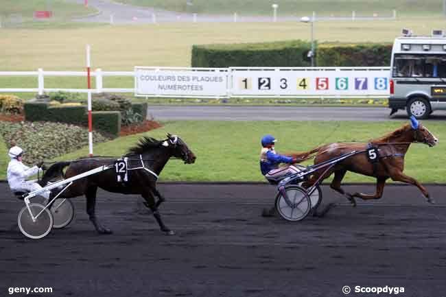 09/02/2011 - Vincennes - Prix de l'Ille-et-Vilaine : Arrivée
