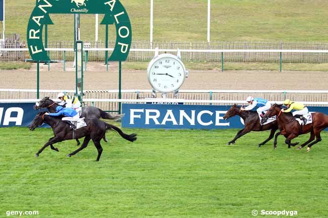 12/10/2018 - Chantilly - Prix le Fabuleux : Result