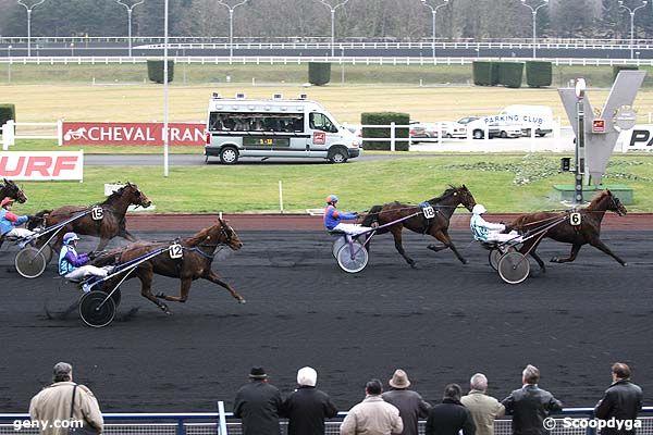 08/01/2008 - Vincennes - Prix du Limousin : Arrivée