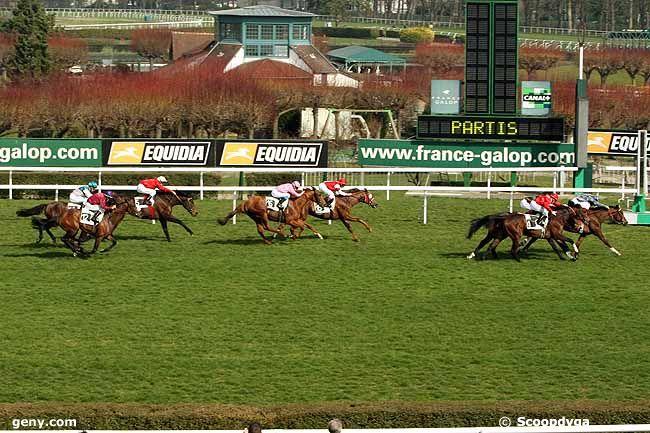 17/03/2009 - Saint-Cloud - Prix d'Auxerre : Arrivée