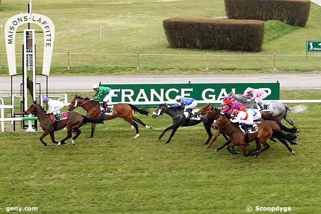 04/04/2013 - Maisons-Laffitte - Prix des Ecuries du Château : Arrivée