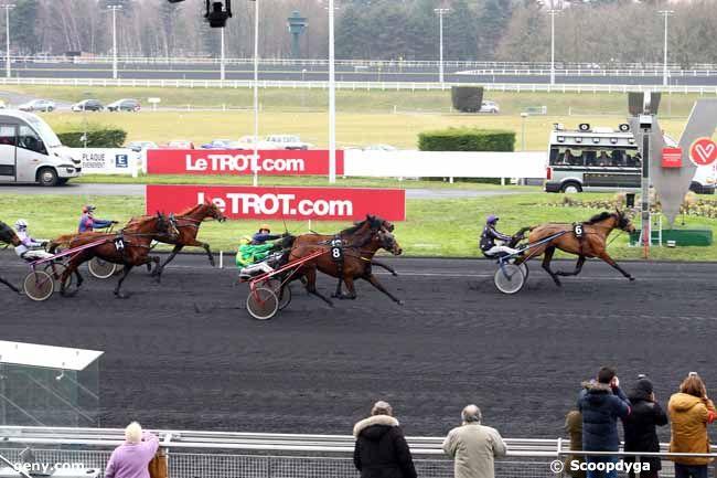 08/01/2017 - Vincennes - Prix de Douai : Arrivée