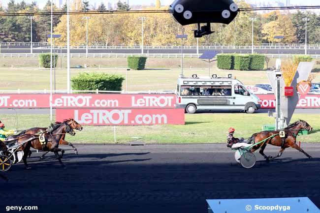 08/11/2018 - Vincennes - Prix Marcel Laurent : Arrivée