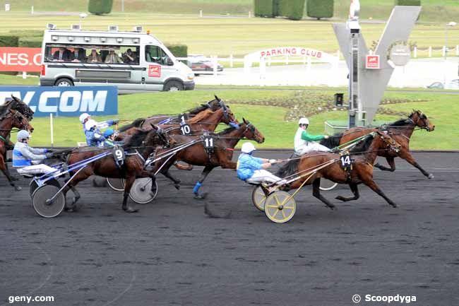14/02/2011 - Vincennes - Prix de Senlis : Arrivée