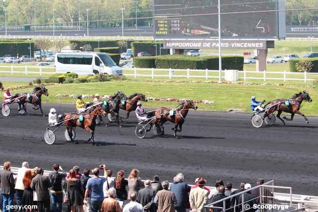 12/04/2014 - Vincennes - Prix de Château-Gaillard : Arrivée