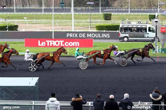 13/02/2018 - Vincennes - Prix de Moulins : Arrivée