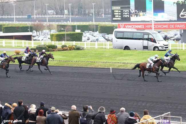 08/01/2017 - Vincennes - Prix du Calvados : Arrivée