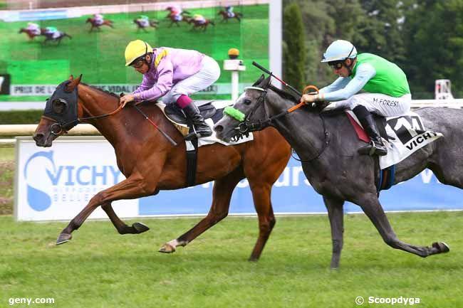 20/07/2017 - Vichy - Prix de Saint-Félix : Arrivée