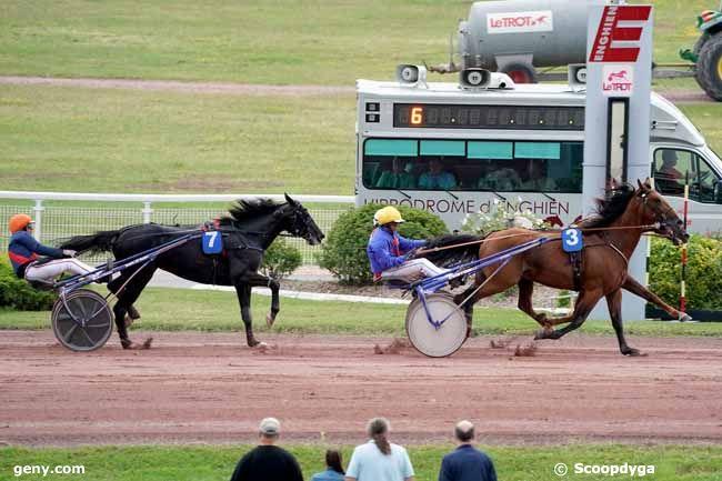 13/08/2019 - Enghien - Prix de la Porte de Versailles : Arrivée