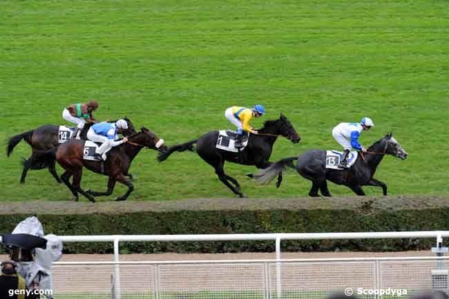 02/11/2008 - Saint-Cloud - Prix du Brionnais : Arrivée