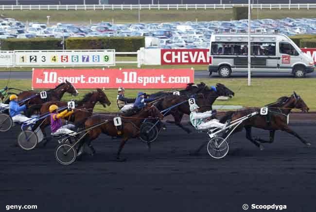 08/02/2009 - Vincennes - Prix de France : Arrivée