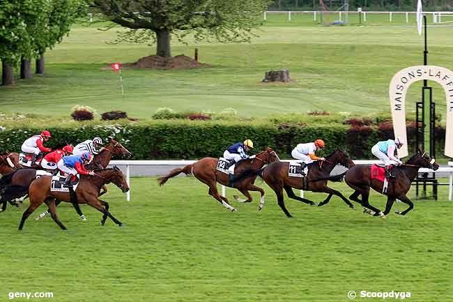 27/04/2009 - Maisons-Laffitte - Prix des Ecuries du Château : Arrivée