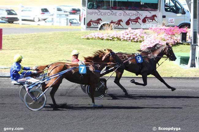 22/08/2016 - Vincennes - Prix Jockey : Arrivée