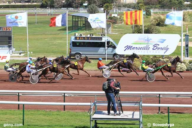 30/03/2016 - Marseille-Borély - Grand National du Trot Paris-Turf : Arrivée