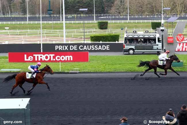 13/02/2018 - Vincennes - Prix de Caussade : Arrivée