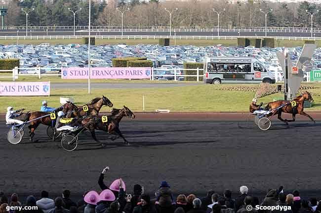 15/02/2009 - Vincennes - Prix de Paris : Arrivée