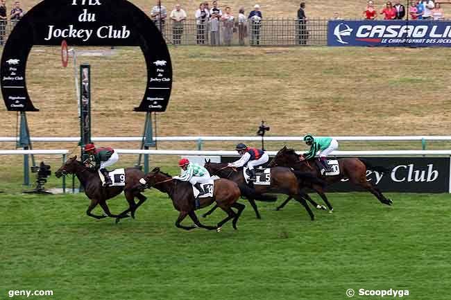 05/06/2011 - Chantilly - Prix des Grandes Ecuries : Arrivée
