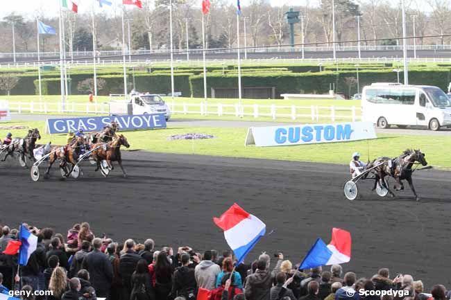 23/02/2014 - Vincennes - Grand Prix de Paris : Arrivée