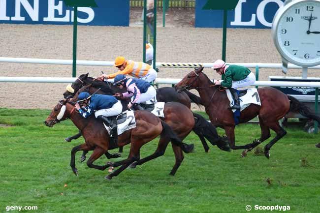 22/11/2016 - Chantilly - Prix Herod : Arrivée