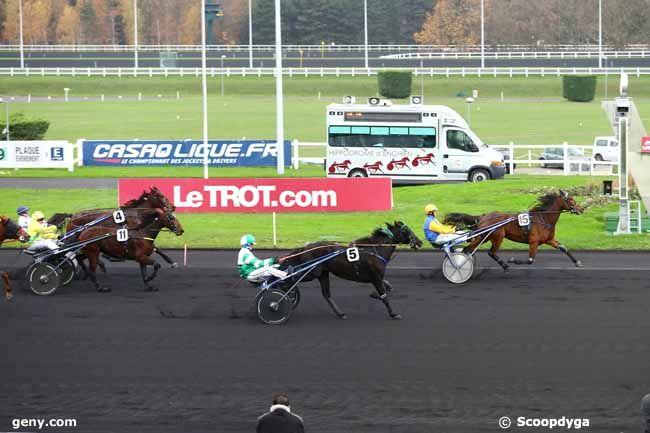 02/12/2014 - Vincennes - Prix de Saint-Jean-de-Monts : Arrivée