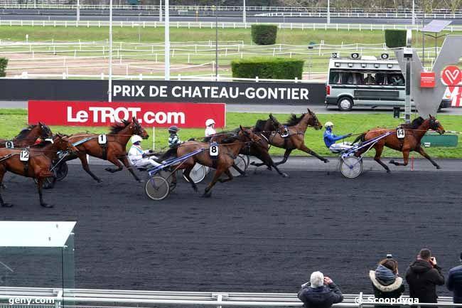 13/02/2018 - Vincennes - Prix de Château-Gontier : Arrivée